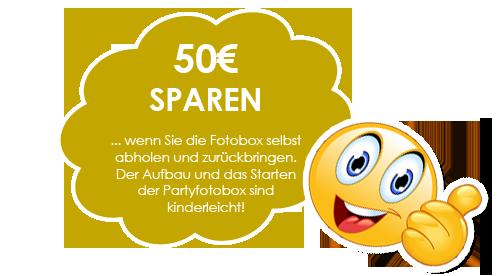 50 Euro sparen