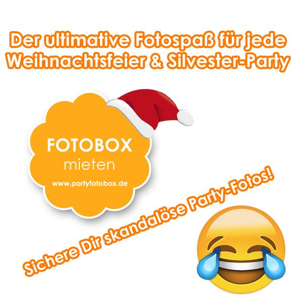 Fotobox Firmenweihnachtsfeier in Darmstadt