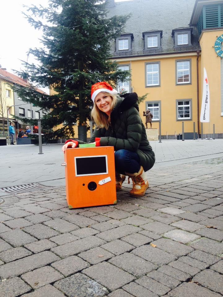 Photobox Weihnachtsfeier Darmstadt